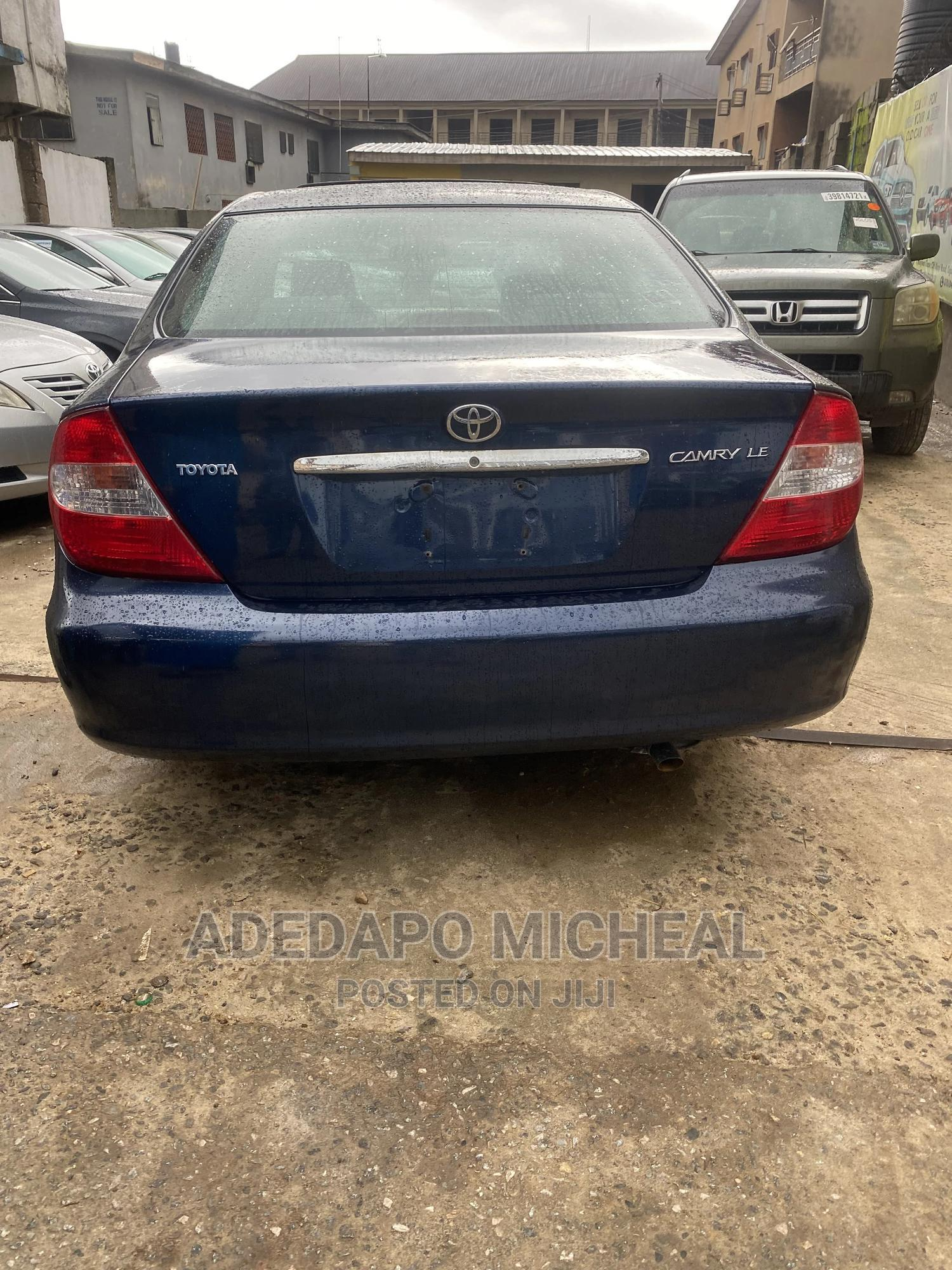 Toyota Camry 2003 Blue   Cars for sale in Ogba, Lagos State, Nigeria
