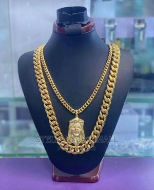 Cuban Chains With Pendant.   Jewelry for sale in Lagos State, Lagos Island (Eko)