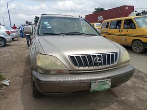 Lexus RX 2001 300 Gold | Cars for sale in Lagos State, Ikeja