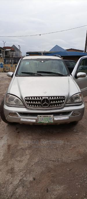 Mercedes-Benz M Class 2005 Silver   Cars for sale in Lagos State, Alimosho