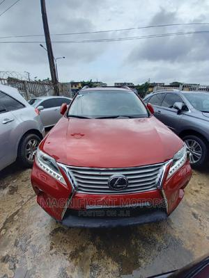 Lexus RX 2012 350 AWD Red | Cars for sale in Lagos State, Surulere