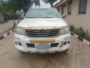 Toyota Hilux 2014 SR 4x4 White | Cars for sale in Abuja (FCT) State, Central Business District