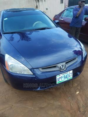 Honda Accord 2004 2.4 Type S Blue   Cars for sale in Lagos State, Alimosho