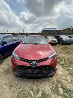 Toyota Corolla 2018 LE Eco (1.8L 4cyl 2A) Red   Cars for sale in Lagos State, Surulere
