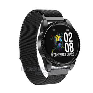 Waterproof Bracelet Blood Pressure Heart Rate Smartwatch | Smart Watches & Trackers for sale in Lagos State, Ikoyi