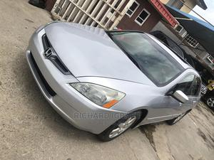 Honda Accord 2006 Sedan EX Automatic Silver | Cars for sale in Lagos State, Surulere