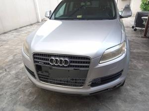 Audi Q7 2007 4.2 FSI Quattro Silver   Cars for sale in Lagos State, Ogba
