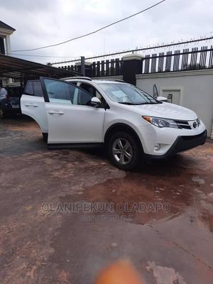 Toyota RAV4 2015 White   Cars for sale in Lagos State, Ikorodu