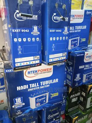 Original 200ah MICROTEK Indian Tubular Battery | Solar Energy for sale in Lagos State, Ojo