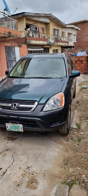 Honda CR-V 2004 2.0i ES Green   Cars for sale in Lagos State, Yaba