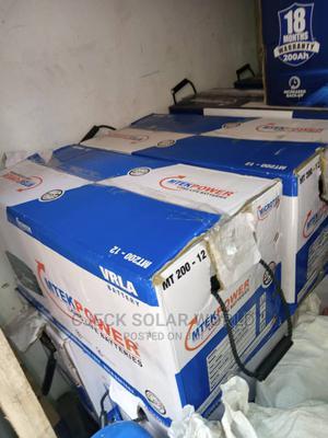 Original 200ah MICROTEK Indian Solar Battery in Stock. | Solar Energy for sale in Lagos State, Ikoyi