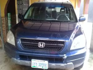 Honda Pilot 2003 EX 4x4 (3.5L 6cyl 5A) Blue   Cars for sale in Akwa Ibom State, Uyo