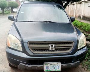 Honda Pilot 2004 LX 4x4 (3.5L 6cyl 5A) Blue | Cars for sale in Lagos State, Amuwo-Odofin