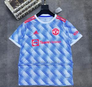 Manchester United Official 21/22 Away Jersey   Clothing for sale in Lagos State, Surulere