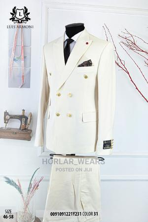 OFF White Double Breasted Suit for Men | Clothing for sale in Lagos State, Lagos Island (Eko)