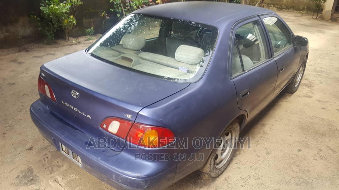 Toyota Corolla 1999 Sedan Blue | Cars for sale in Ajah, Lagos State, Nigeria
