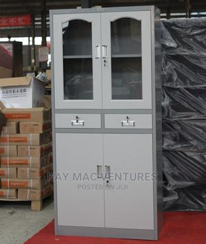 Full Height Cupboard With Glass and Drawer | Furniture for sale in Lagos State, Ikeja