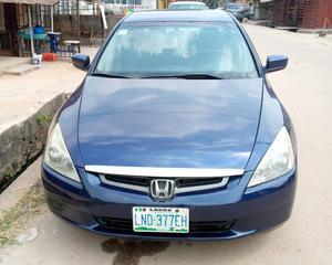 Honda Accord 2004 Sedan EX Blue | Cars for sale in Abuja (FCT) State, Garki 1