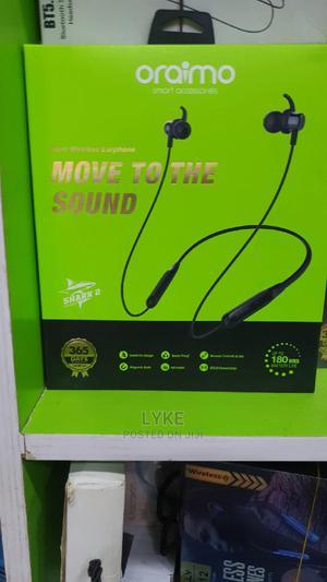 Oraimo Necklace OEB-E59D Bluetooth Earphone   Headphones for sale in Lagos State, Ikeja