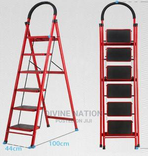 Multipurpose 6 Step Foldable Steel Ladder (Home Office) | Home Accessories for sale in Lagos State, Lagos Island (Eko)