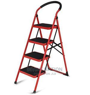 Multipurpose 4 Step Foldable Steel Ladder (Home Office) | Home Accessories for sale in Lagos State, Lagos Island (Eko)