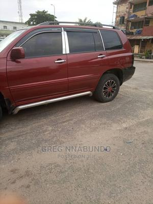 Toyota Highlander 2003 V6 FWD Red   Cars for sale in Lagos State, Isolo