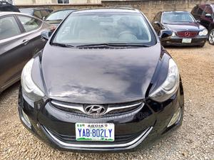 Hyundai Elantra 2013 Black   Cars for sale in Abuja (FCT) State, Central Business District