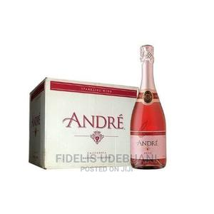 Andre Rose Sparkling Wine X 12 Bottles | Meals & Drinks for sale in Lagos State, Lagos Island (Eko)