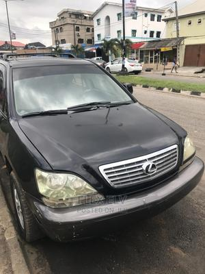 Lexus RX 2002 300 2WD Black | Cars for sale in Lagos State, Ikeja