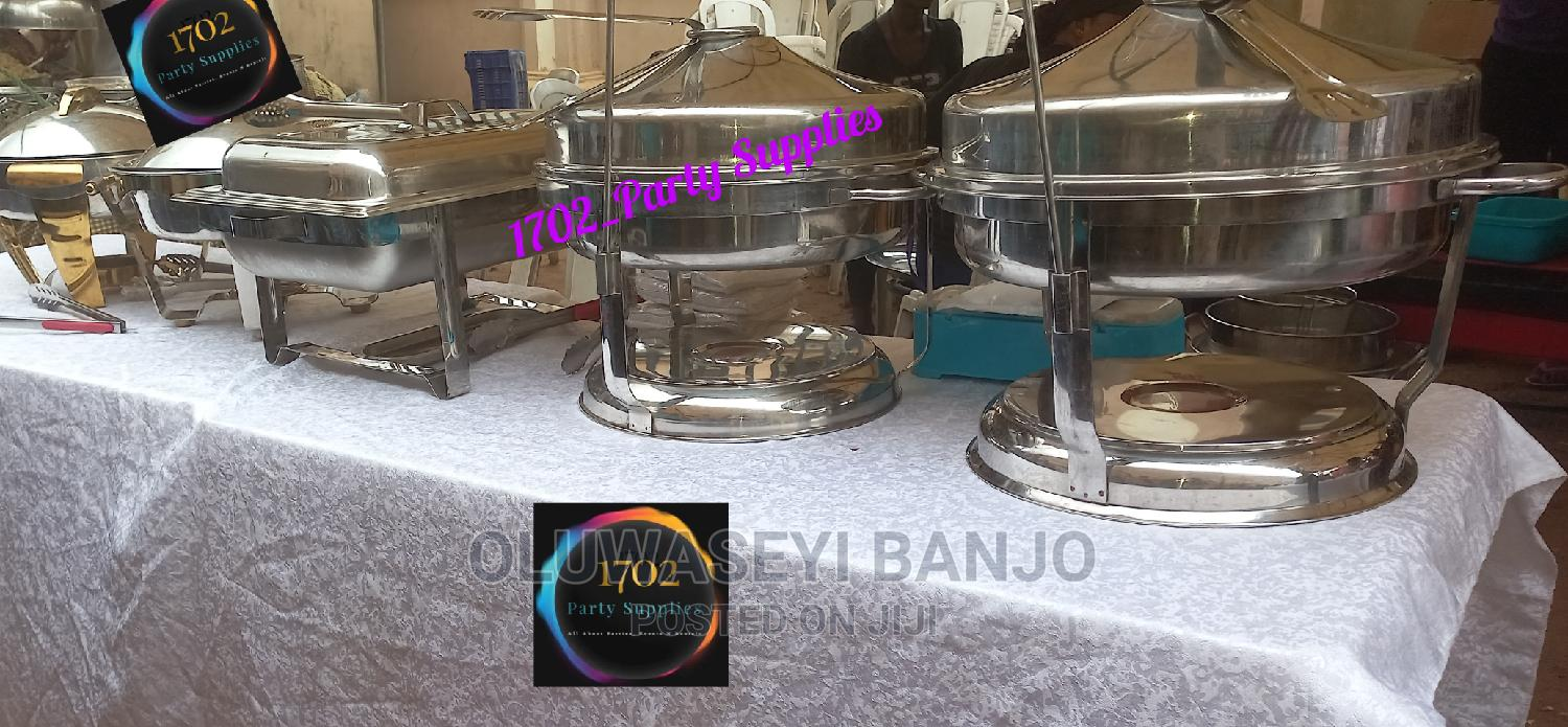 Chaffing Dishes and Caterings Utensils for Rent