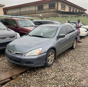 Honda Accord 2007 2.4 Gray | Cars for sale in Lagos State, Ogba