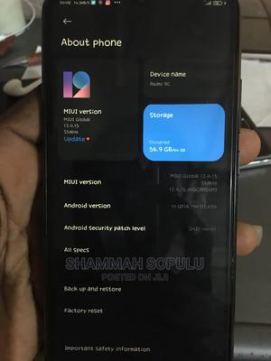 Xiaomi Redmi 9C 64 GB Black   Mobile Phones for sale in Anambra State, Awka