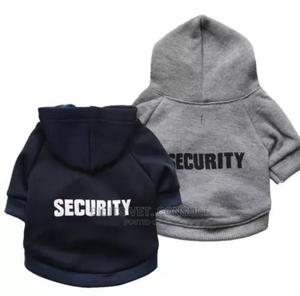 Security Service Pet Clothe Winter Hoodies | Pet's Accessories for sale in Lagos State, Abule Egba