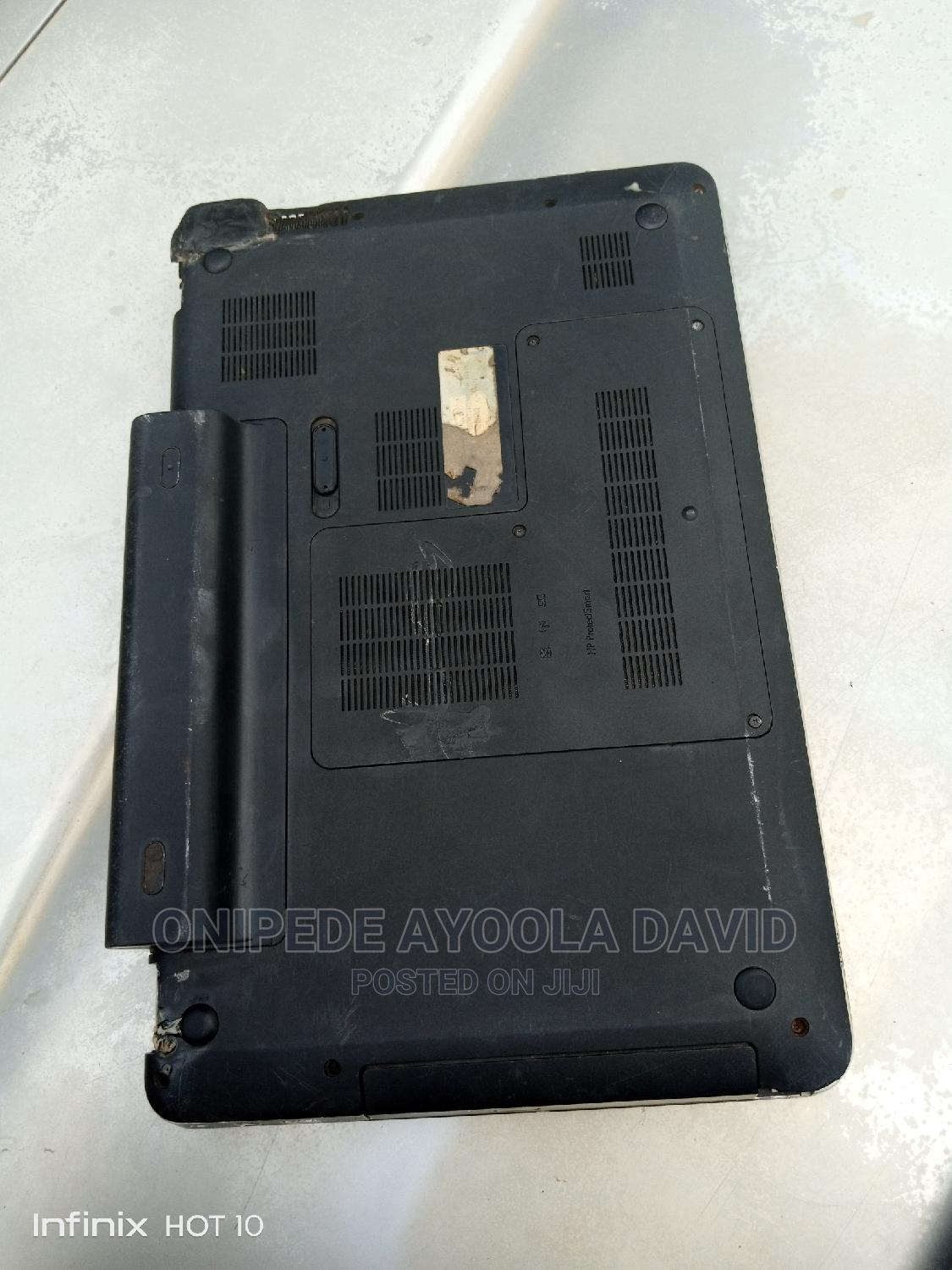 Laptop HP Pavilion 15 4GB Intel Core i3 HDD 500GB   Laptops & Computers for sale in Akure, Ondo State, Nigeria