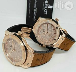 Hublot Quality Leather Watch | Watches for sale in Lagos State, Lekki