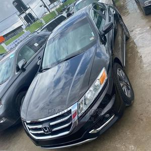 Honda Accord Crosstour 2014 EX-L AWD Black | Cars for sale in Lagos State, Agege