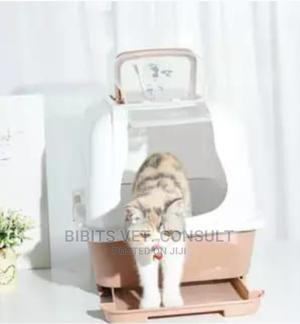 Fully Enclosed Deodorization Double Basin Cat Litter | Pet's Accessories for sale in Lagos State, Ifako-Ijaiye