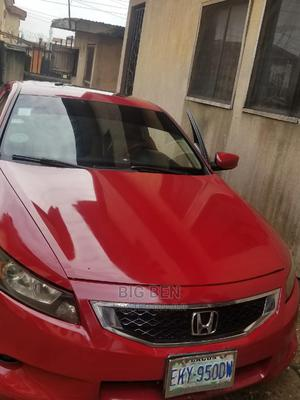 Honda Accord 2009 Coupe 2.4 EX-L Red | Cars for sale in Edo State, Benin City