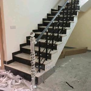 Quality Black Aluminum Hand Rail | Building Materials for sale in Lagos State, Amuwo-Odofin