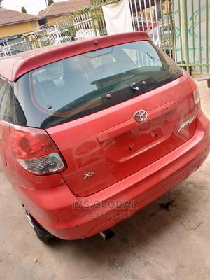 Toyota Matrix 2006 Red   Cars for sale in Lagos State, Ajah