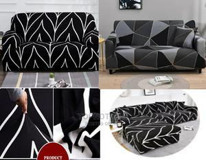 Sofa Cover (Black Stripes)   Home Accessories for sale in Lagos State, Lekki