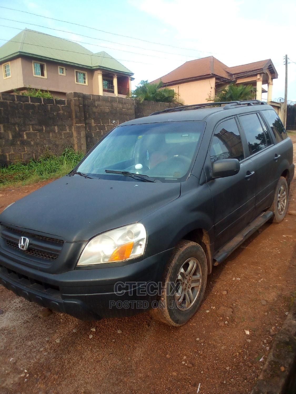Honda Pilot 2004 Black   Cars for sale in Enugu, Enugu State, Nigeria