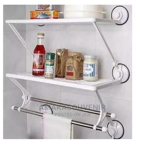 Bathroom and Kitchen Rack With Towel Rail | Home Accessories for sale in Lagos State, Lagos Island (Eko)