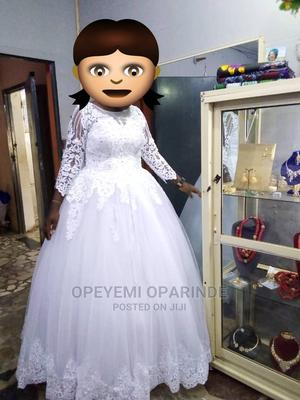 One Time Used Wedding Gown | Wedding Wear & Accessories for sale in Osun State, Osogbo