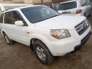 Honda Pilot 2008 White | Cars for sale in Lagos State, Alimosho