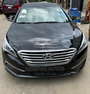 Hyundai Sonata 2016 Black   Cars for sale in Lagos State, Surulere