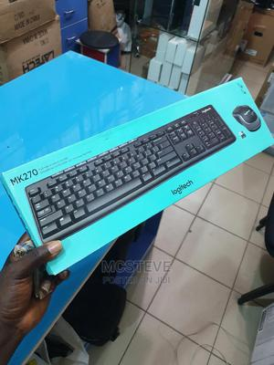 Logitech MK270 Wireless Keyboard and Mouse Combo | Computer Accessories  for sale in Abuja (FCT) State, Wuse 2