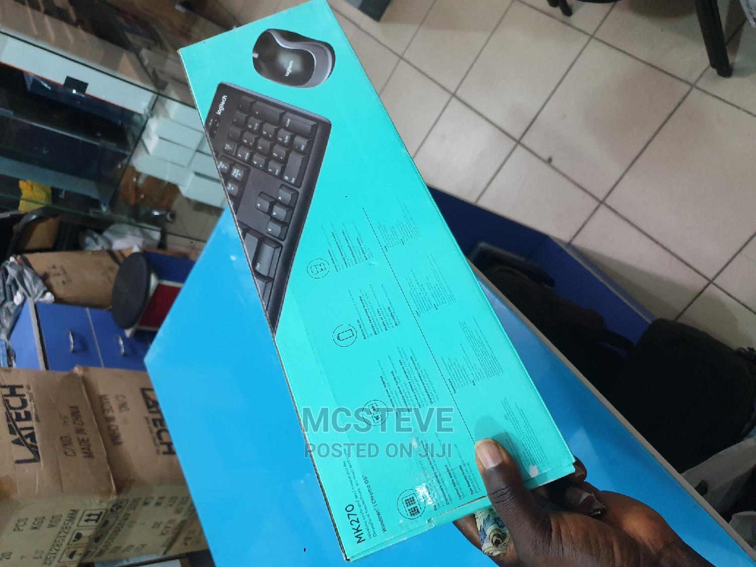 Logitech MK270 Wireless Keyboard and Mouse Combo | Computer Accessories  for sale in Wuse 2, Abuja (FCT) State, Nigeria