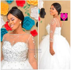 Stone Ball Wedding Gown | Wedding Wear & Accessories for sale in Lagos State, Ifako-Ijaiye