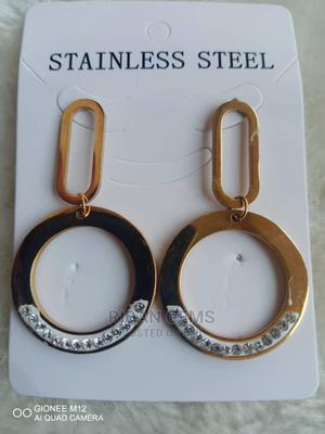 Stainless Steel Ear Rings   Jewelry for sale in Lagos State, Ojo